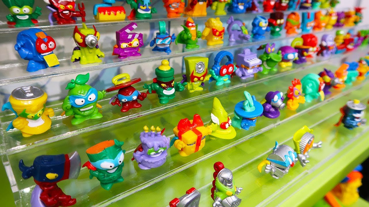 Superzings Series 3 Full Collection Blind Bags Youtube