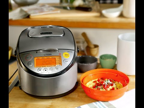 Tiger's JKT-S Multi-functional Rice Cooker With 11 Preset Menus For Your Everyday Cooking