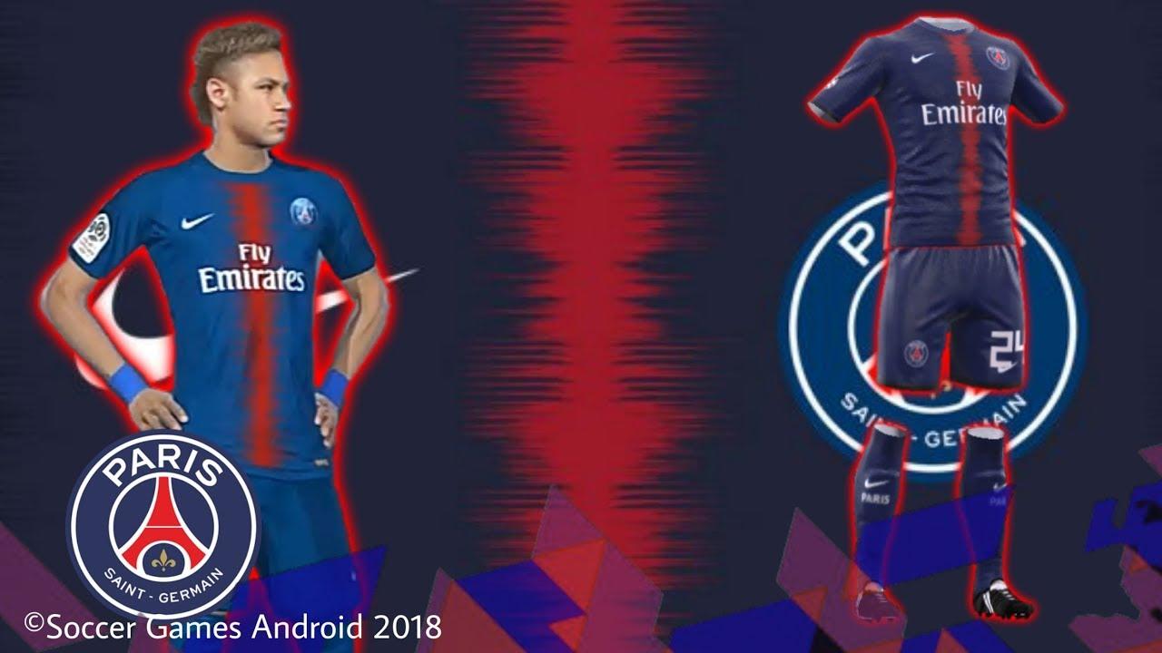 Kit PSG 2019 • para DLS18 e FTS
