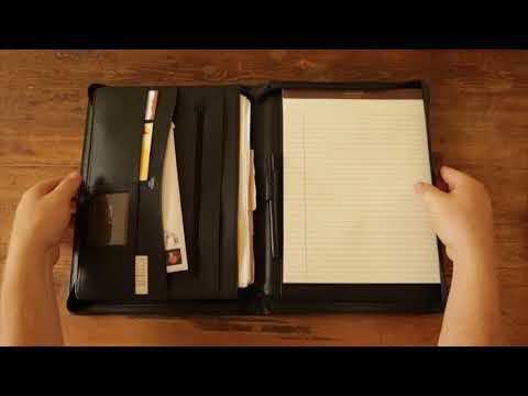 About Bosca Leather Portfolios