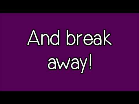 Glee - Breakaway (Lyrics) HD