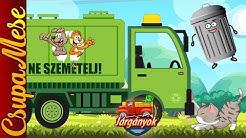 Járgányok: A kis kukásautó története.