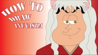 how to draw inuyasha