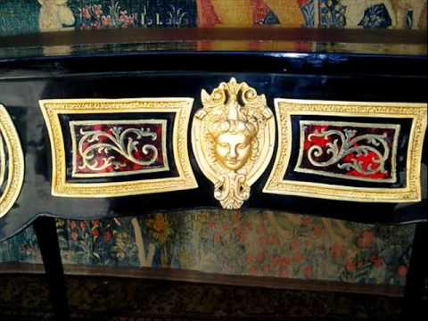 Charles Boulle French Furniture Louix XV furniture Boulle for Sale