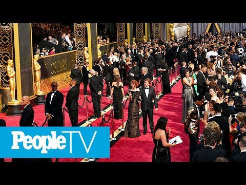 Hollywood's Biggest Night Red Carpet: Watch The Nominees Arr