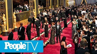 Hollywood's Biggest Night Red Carpet: Watch The Nominees Arrive | PeopleTV Video