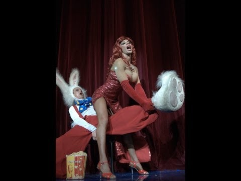 Who Framed Roger Rabbit  Кролик Роджер  Evdokimov  theater BEST DRAG QUEEN  from Russia