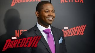 Stephen Rider on Blake Tower  - Marvel's Daredevil Season 2 Red Carpet