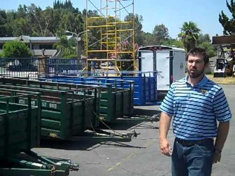 Utility Trailer Rental Los Angeles