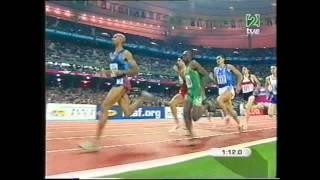 Antonio Reina Cto  Mundo Paris 2003 semifinalaes 800 m l
