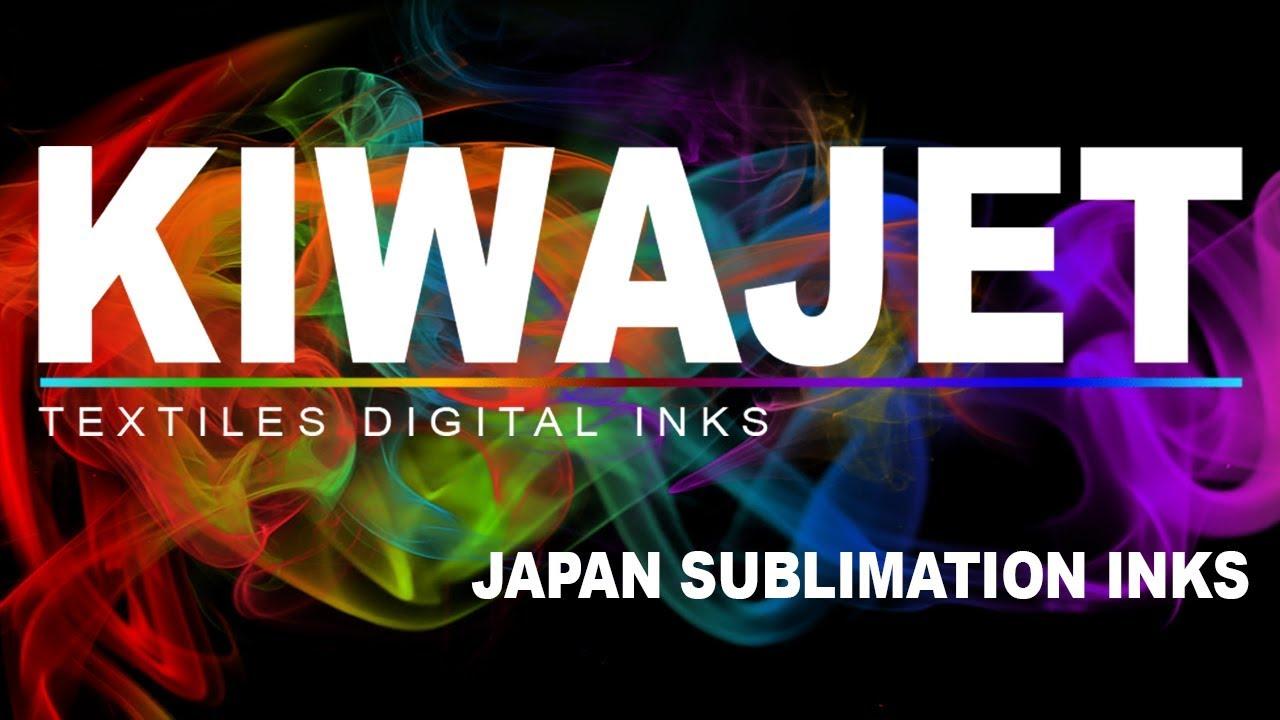 KIWA Sublimation Ink - Less Fumes - Best Inks for Dye Sublimation