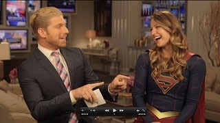 melissa benoist interview supergirl