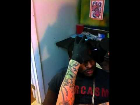 Single mann tattoo