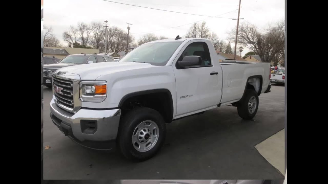 2016 gmc sierra 2500hd regular cab long box 2 wd new cars colusa ca youtube. Black Bedroom Furniture Sets. Home Design Ideas