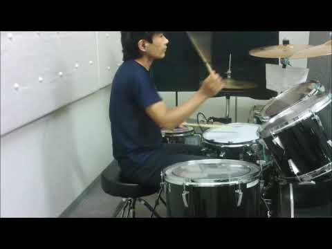 岡田有希子 くちびるNetwork drum cover