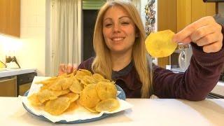 Ricetta patatine tipo pringles homemade