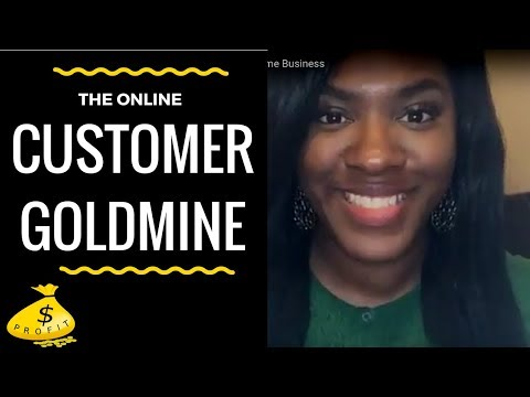 The Online Customer Goldmine for Your Home Business