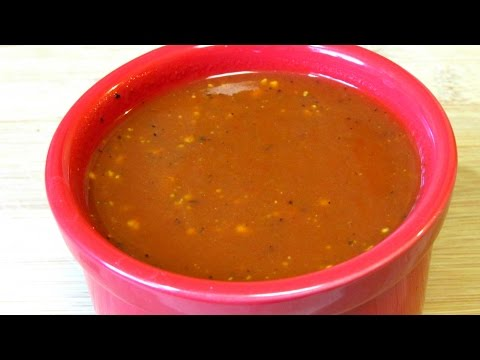 Homemade BBQ Sauce (Low Carb Recipe) Sweet & Tangy Barbecue Sauce