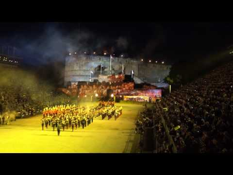 Royal Edinburgh Tattoo 2016 4 minute highlights 4K