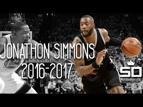 Jonathon Simmons Official 2016-2017 Season Highlights // 6.2 PPG, 2.1 RPG, 1.6 APG