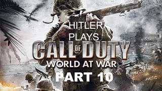 Hitler plays Call Of Duty World At War Part 10 - Eviction