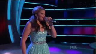 Lauren Alaina - I Hope You Dance - Top 3 - American Idol 2011 - 05/18/11