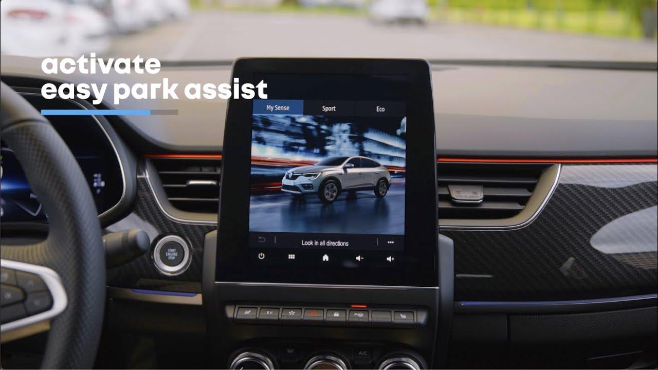 Renault Arkana: R:tutorial Easy Park Assist