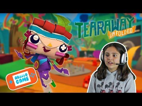 Tearaway Unfolded PS4 Gameplay en español Abrelo Game GamePlay PS4