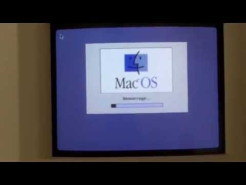 Serge Demoulin My Mac Color Classic still working after 20 years