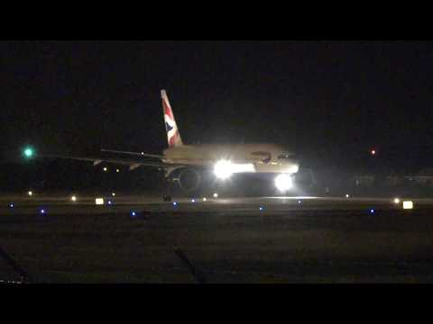 GE90s ROARRR!!!! British Airways Boeing 777-200ER Departing Grand Cayman