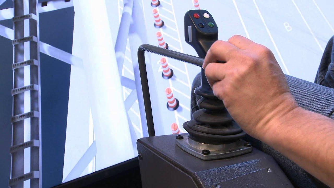 Liebherr - Simulations for maritime crane operator training