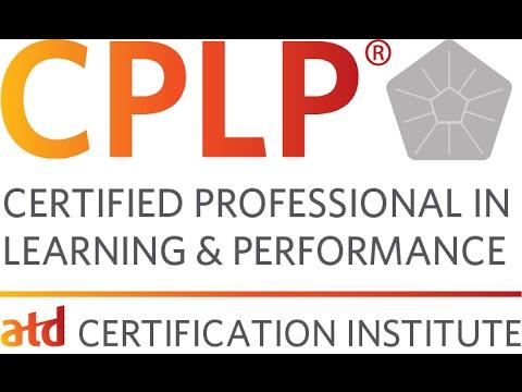 My (CPLP) Certification Journey- Introduction      الشهادة الإحترافية الأولى في التعلم والأداء