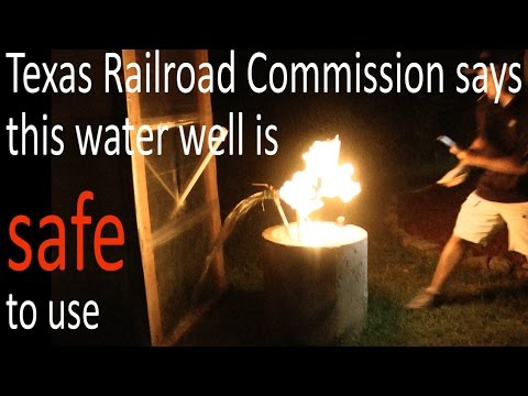 Dangerous Fracking Related Water Contamination: Parker County Texas