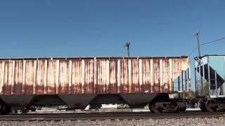 BNSF 4711 leads a W/B manifest at Afton Oklahoma.