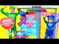 PJ Masks Disney Assistant Transforming Valentine's Day Play House!
