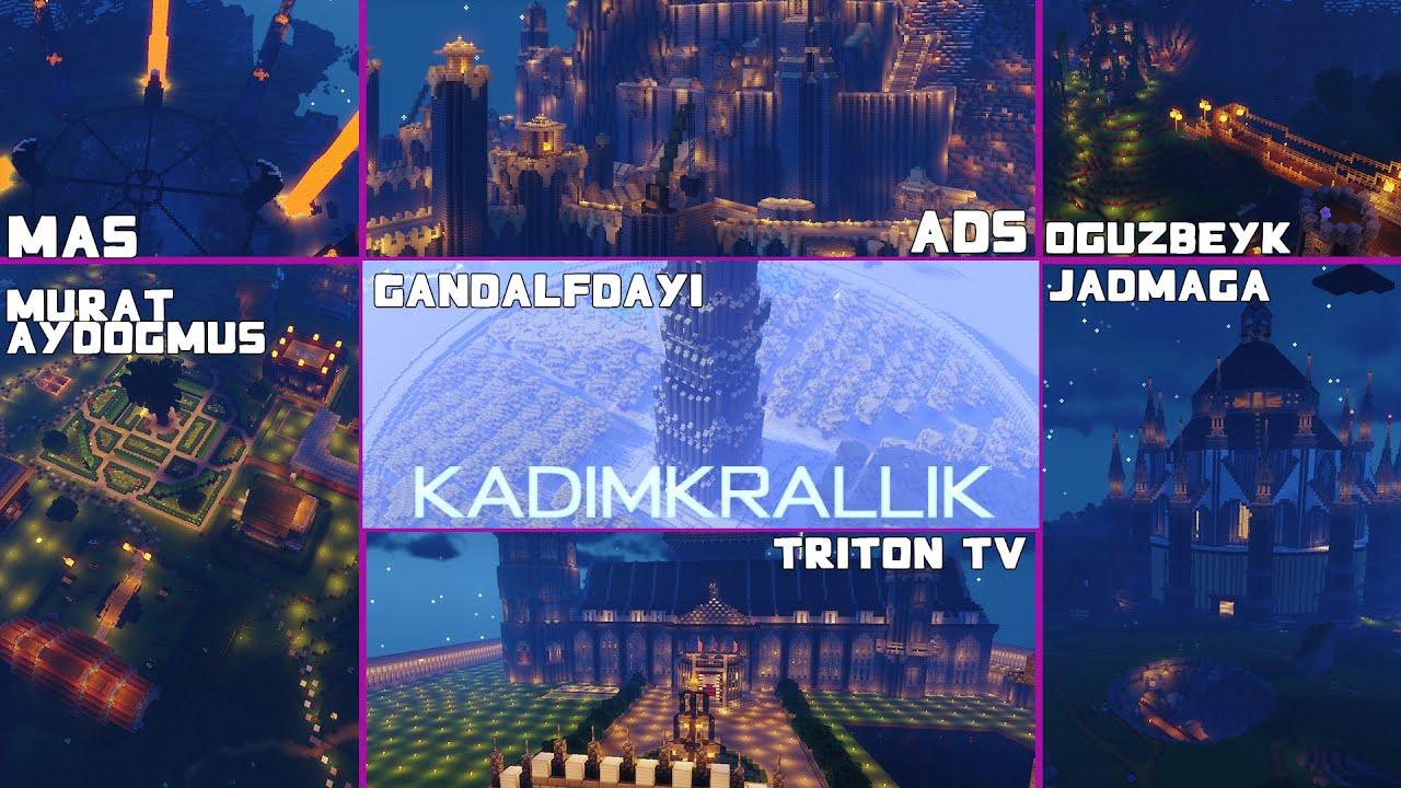 Kadim Krallık Haritasını Geziyoruz! (Gondor Toprakları, Isengard)   Minecraft Sistem ve Yapılar #4  