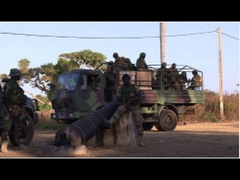 ECOWAS troops secure Gambia