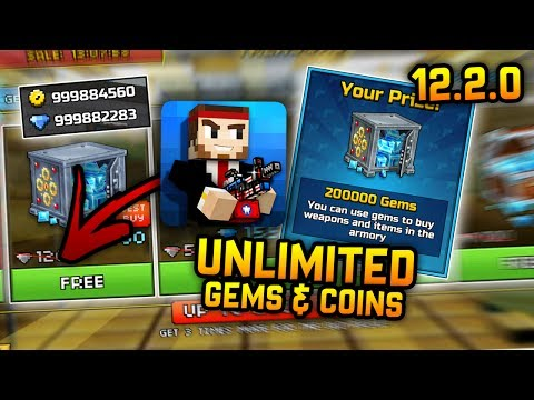 Pixel Gun 3D 12.2.1 Hack - Unlimited Gems & Coins, Maxed Account, Anti-Ban! (No Root) *WORKING*