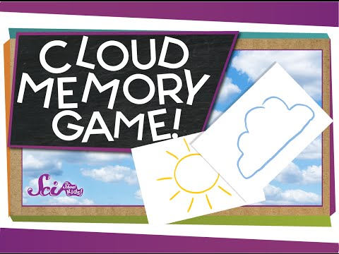 Play The Cloud Memory Game! - #sciencegoals
