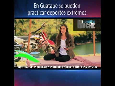 En Guatapé se pueden practicar deportes extremos - YouTube