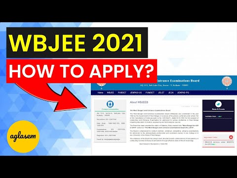 WBJEE 2021 Registration / Application Form Out | How To Apply @ wbjeeb.nic.in | WBJEE 2021