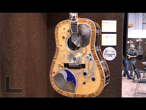 NAMM '17 - Martin Two Millionth Guitar, D-28 John Prine, D-28 Dwight Yoakam & CEO 8.2