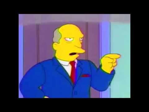 Steamed Hams But Skinner Has A Laughing Breakdown