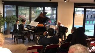 Concerto en La mineur pour accordéon de James Lesueur