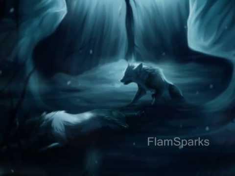 Anime Wolves - Falling inside the black