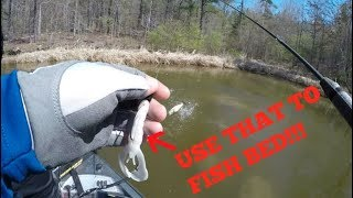 shearon harris lake bed fishing searching for 10 lber