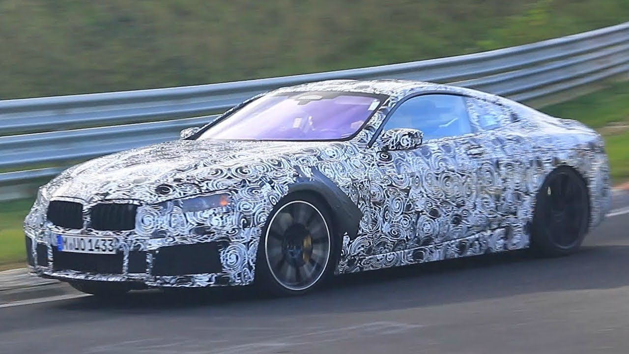 2018 BMW 850i & BMW M8- Spyshots on the Nürburgring! - YouTube