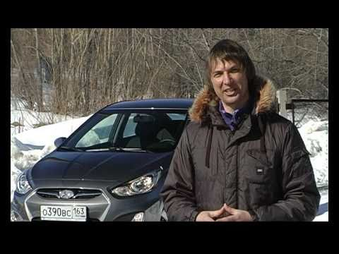 тест Hyundai Solaris Игорь Бурцев