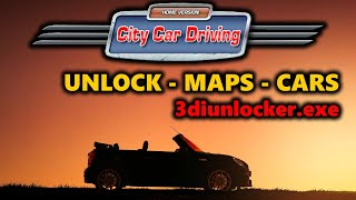✅ City Car Driving [1.4 - 1.5 / 1.5.2 / 1.5.5 / 1.5.6 ] -  UNLOCK SAVE, MAPS, CARS | 100% SAVE