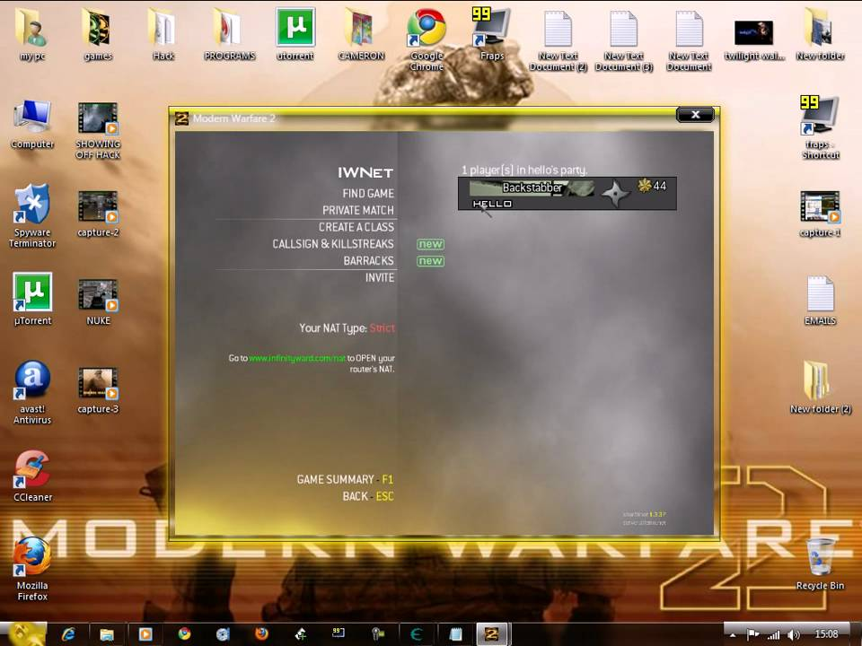 MW2 ONLINE CRACK 100% WORKING NO STEAM 31/05/2010
